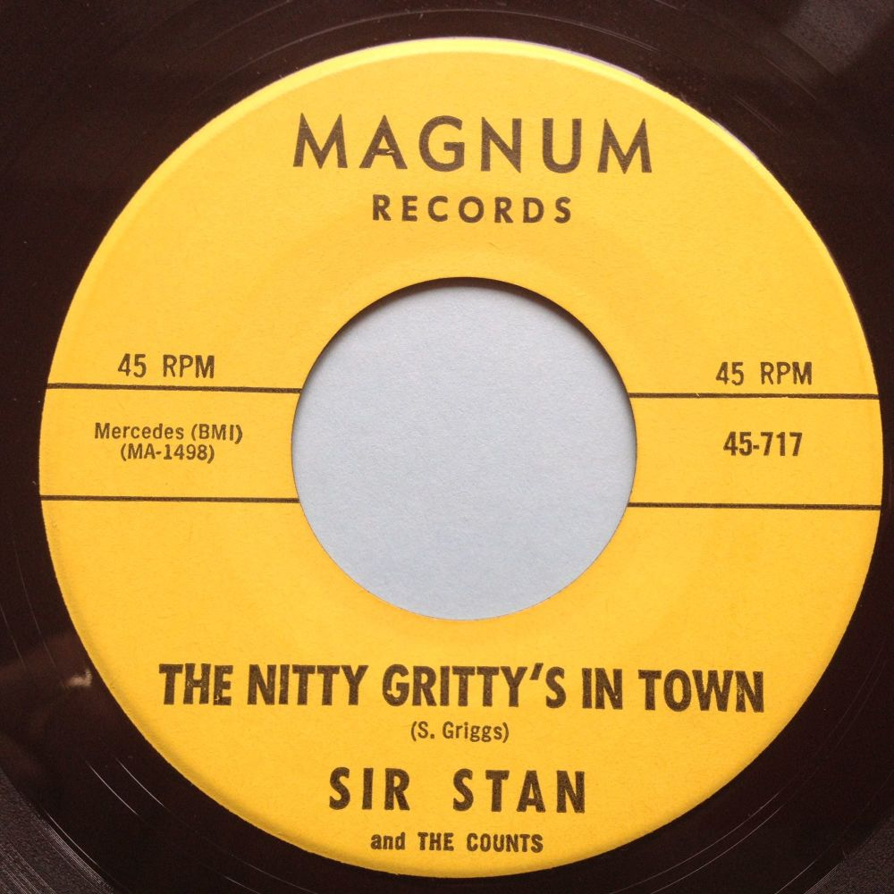 Sir Stan - The Nitty Gritty's in town / Soulin' - Magnum - Ex