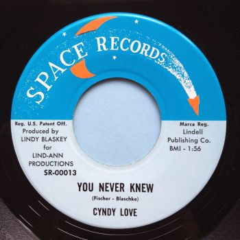Cyndy Love - You never knew - Space - Ex