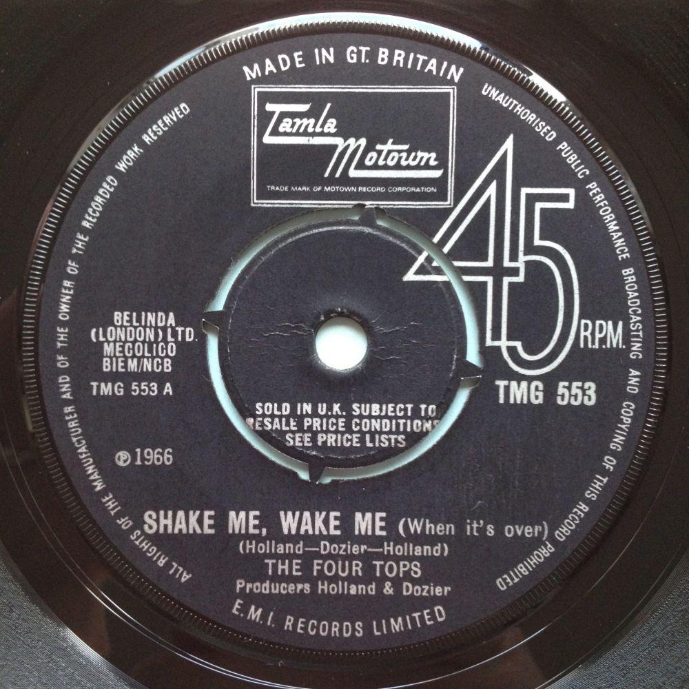 Four Tops - Shake me, Wake me - UK Tamla Motown 533 - M-