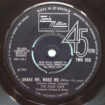 Four Tops - Shake me, Wake me - UK Tamla Motown 533 - M-