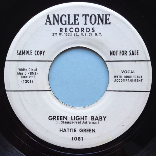 Hattie Green - Green light baby - Angle Tone promo - Ex-