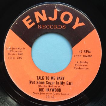 Joe Harwood - Talk to me baby (Put some sugar in my ear) - Enjoy - Ex