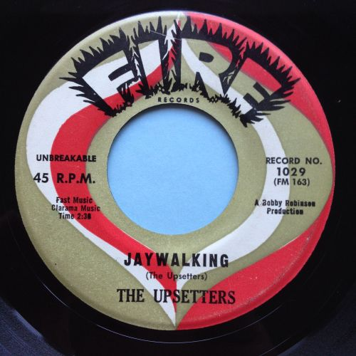 Upsetters - Jaywalkin / Steppin' out - Fire - VG+