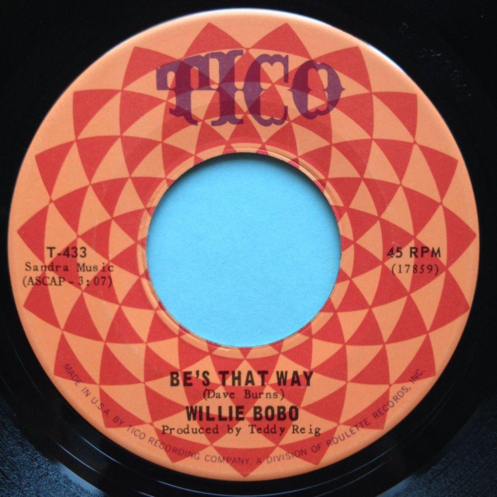 Willie Bobo - Be's that way - Tico - Ex
