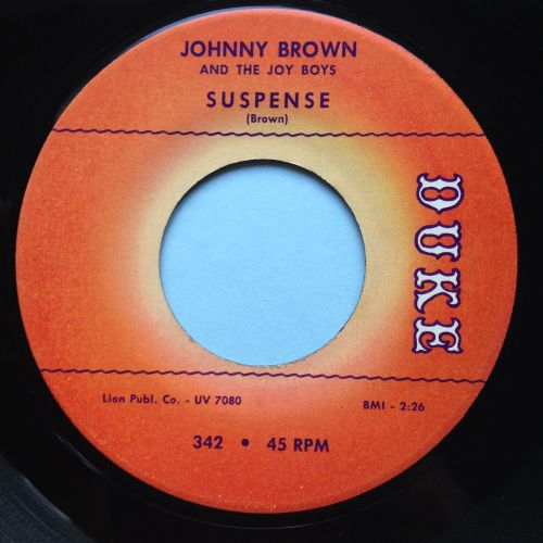 Johnny Brown & Joy Boys - Suspense - Duke - Ex-