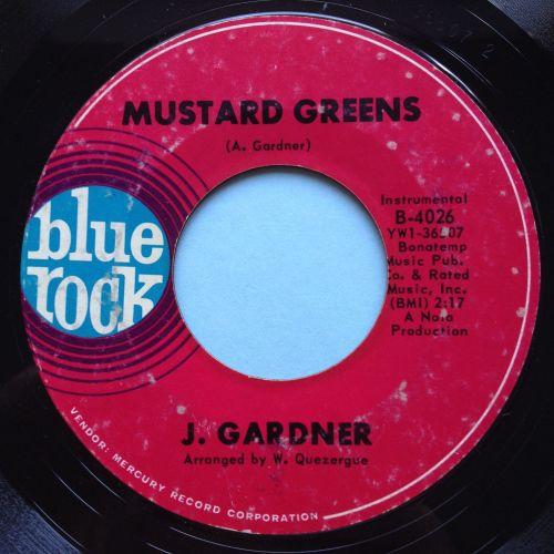 J Gardner - Mustard Greens - Blue Rock - Ex