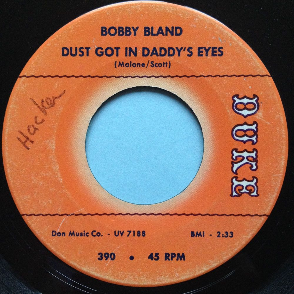 Bobby Bland - Dust got in daddy's eyes - Duke - Ex