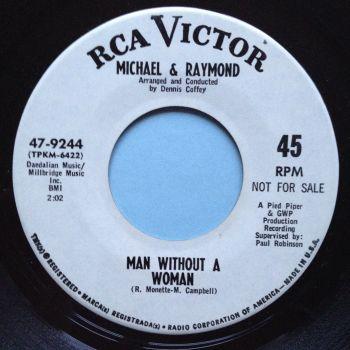 Michael & Raymond - Man without a woman - RCA promo - Ex