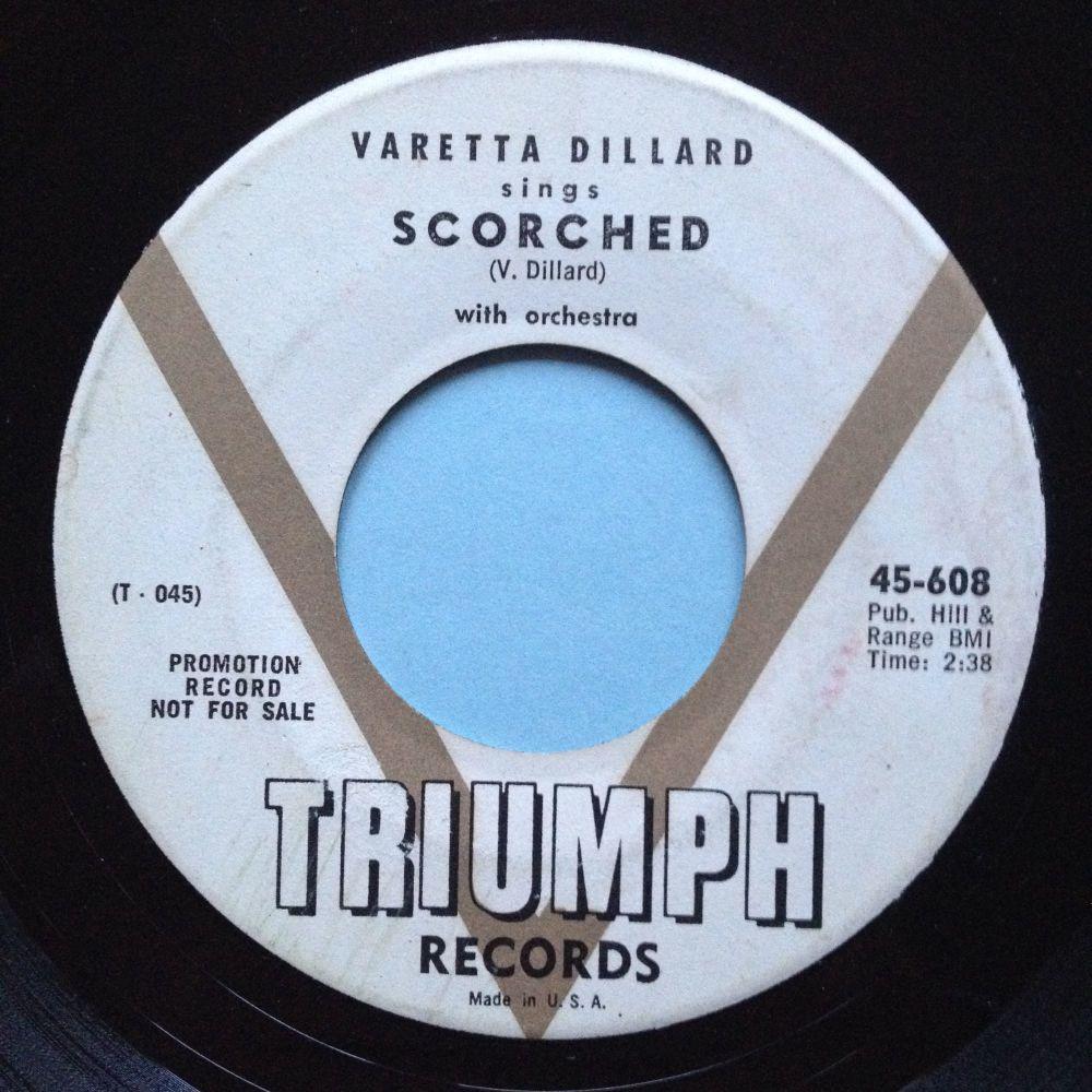 Varetta Dillard - Scorched - Triumph promo - VG+