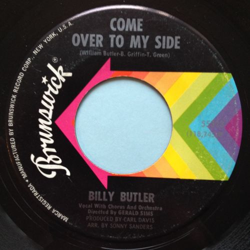 Billy Butler - Come over to my side - Brunswick - VG+