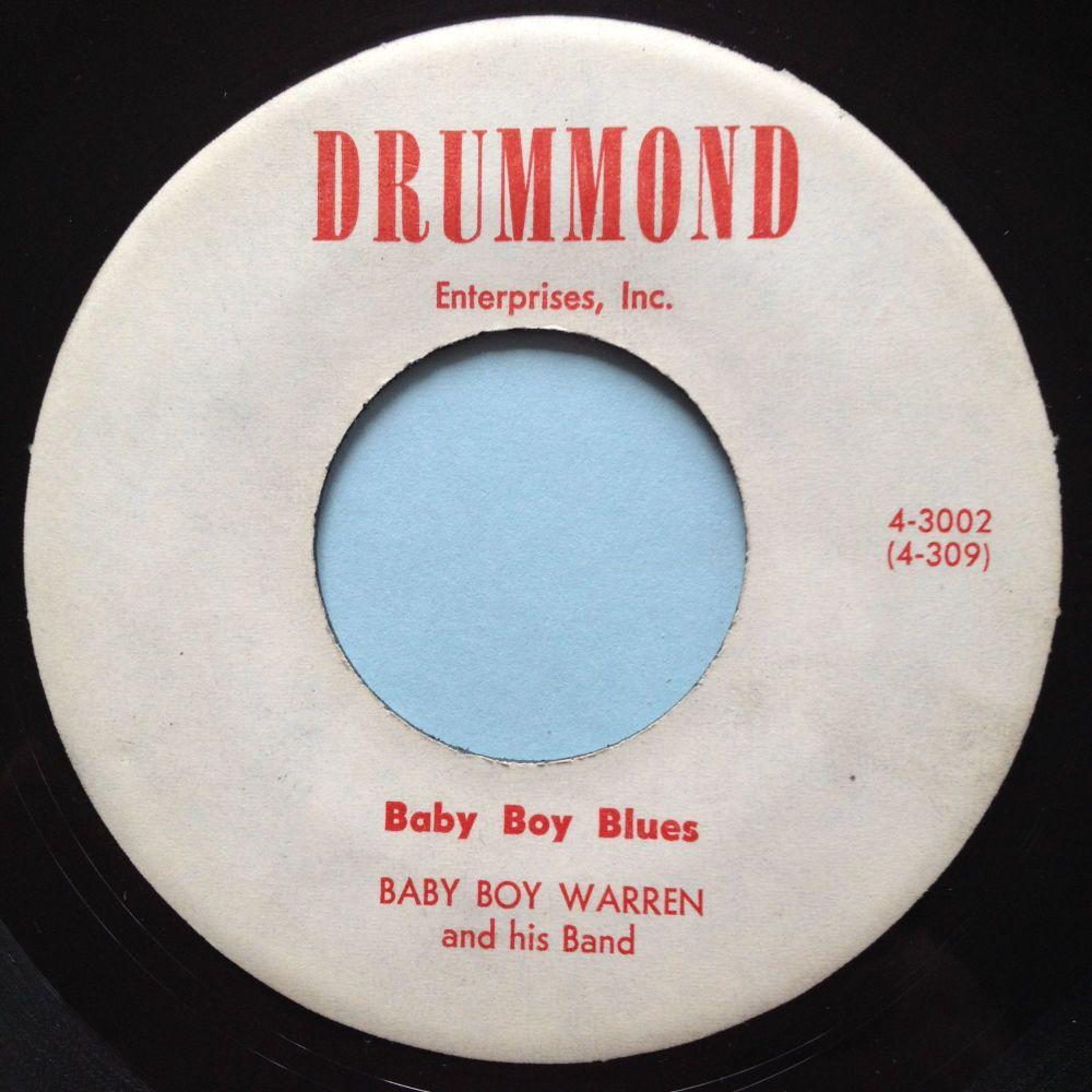 Baby Boy Warren - Baby boy blues / Chicken - Drummond - Ex