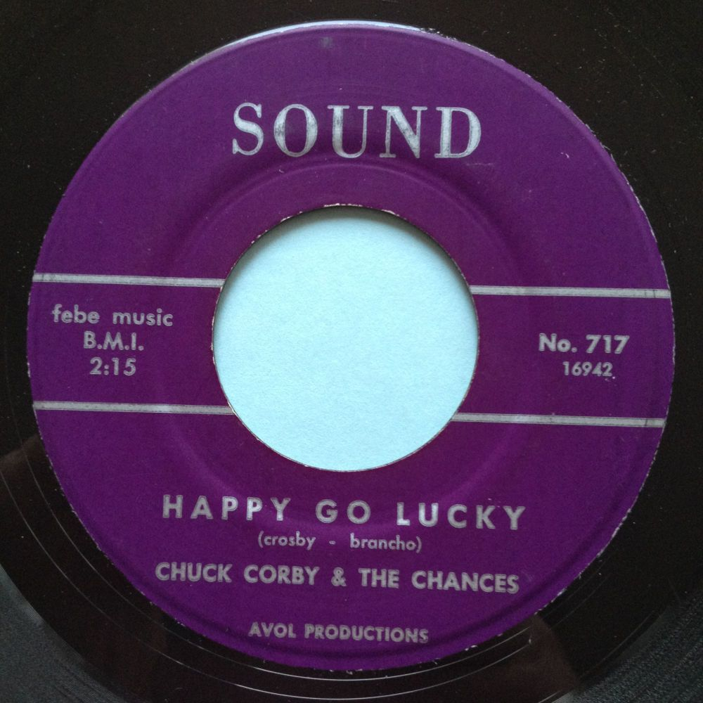 Chuck Corby - Happy go lucky - Sound - Ex