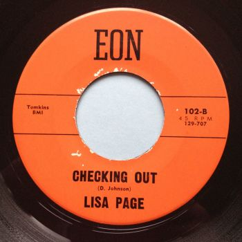 Lisa Page - Checking out - Eon - Ex-