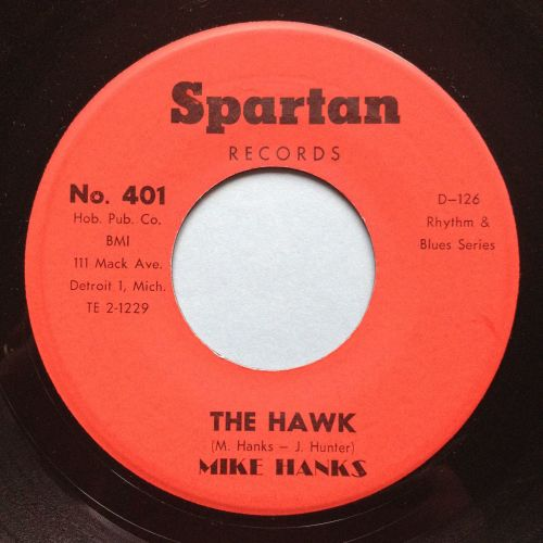 Mike Hanks - The Hawk - Spartan - Ex