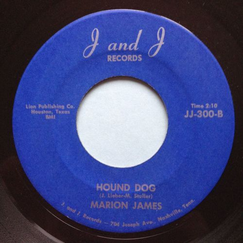 Marion James - Hound Dog - J and J - Ex