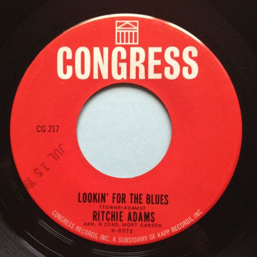 Ritchie Adams - Looki' for the blues - Congress - Ex
