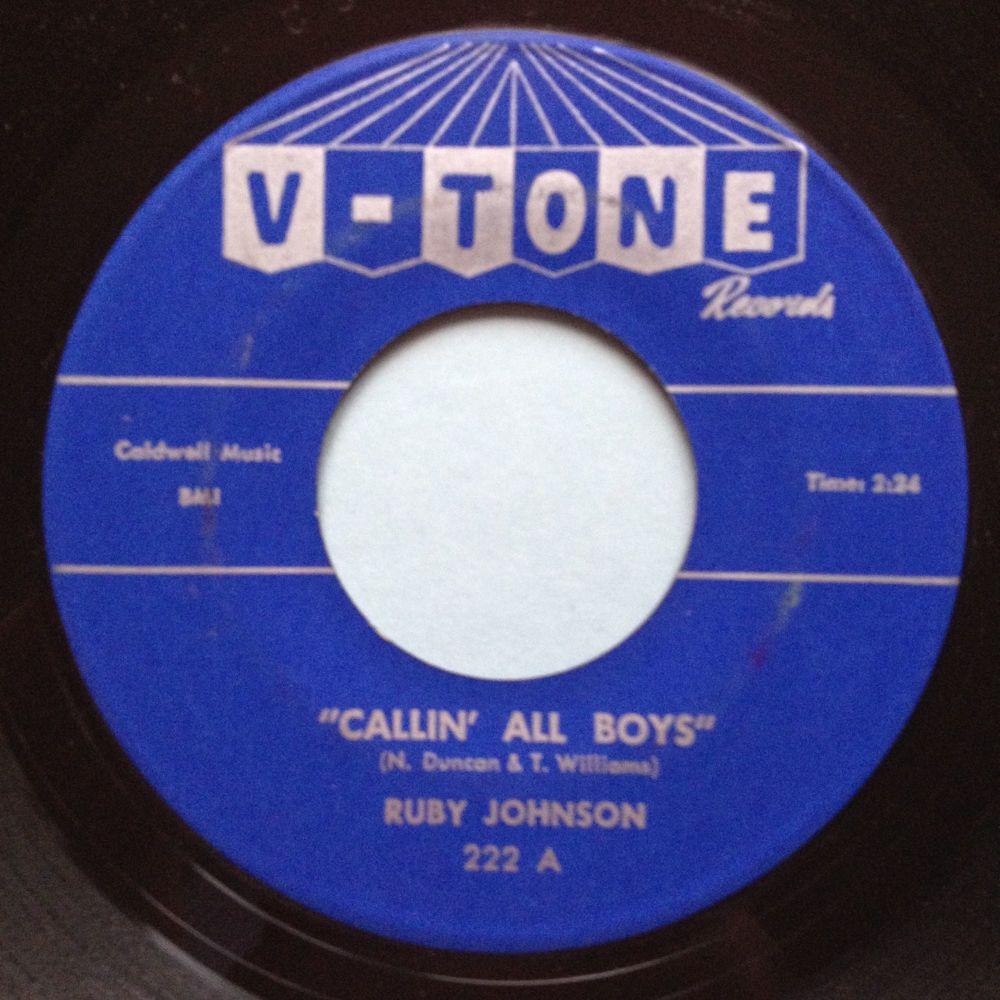 Ruby Johnson - Callin' all boys - V-Tone - Ex