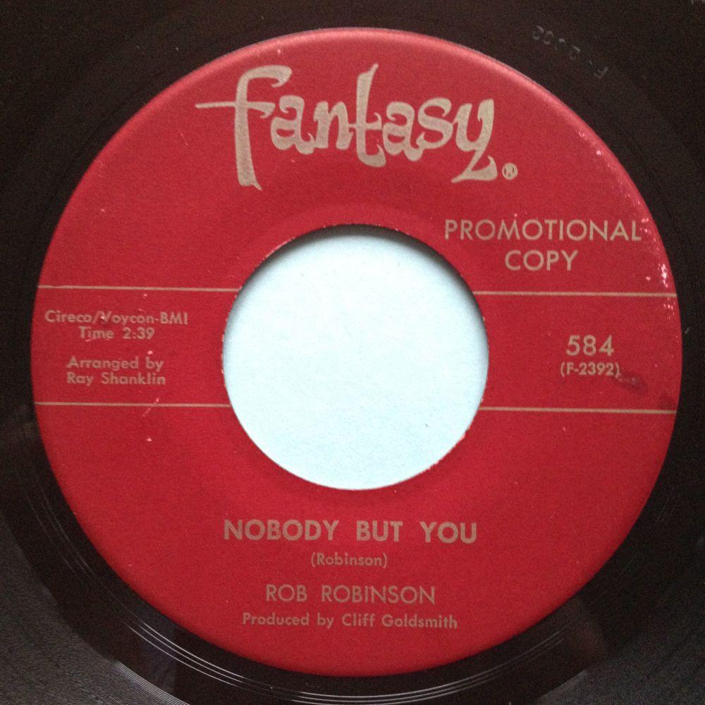 Rob Robinson - Nobody but you - Fantasy promo - Ex-