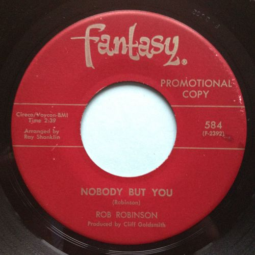 Rob Robinson - Nobody but you - Fantasy - Ex-