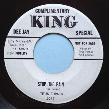 Titus Turner - Stop the pain - Hold your loving - King promo - Ex-