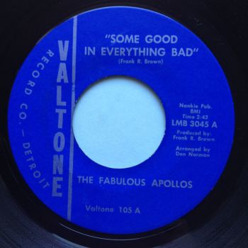 Fabulous Appollos - Something good in everything bad - Valtone - Ex
