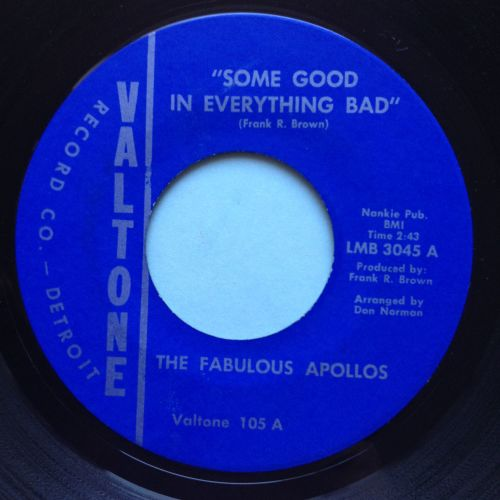 Fabulous Appollos - Something in everything bad - Valtone - Ex