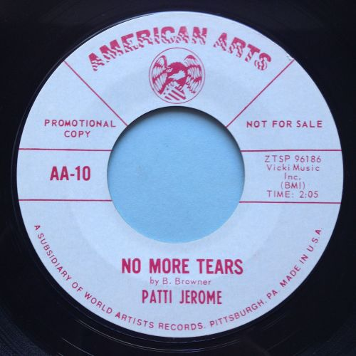 Patti Jerome - No more tears - American Arts promo - Ex