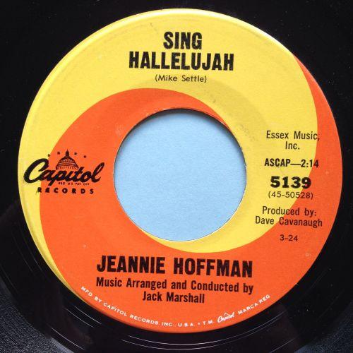 Jeannie Hoffman - Sing Hallelujah - Capitol - Ex
