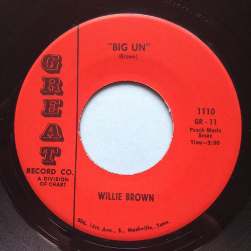 Willie Brown - Big Un - Great - Ex-