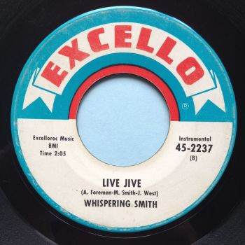Whispering Smith - Live Jive - Excello - VG+