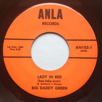 Big Daddy Green - Lady in Red - Anla - Ex-