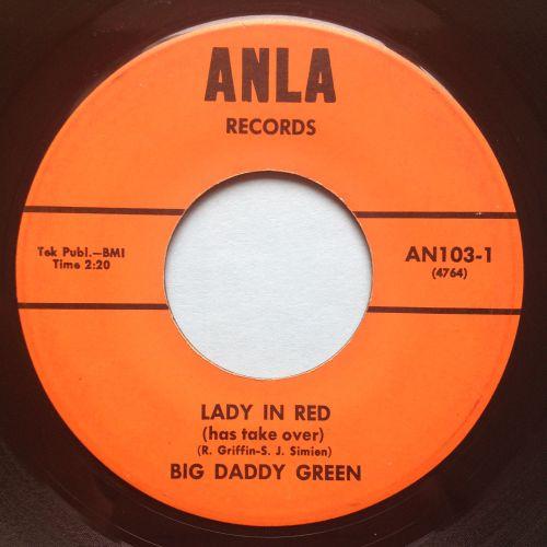 Big Daddy Green - Lady in Red - Anla - Ex-