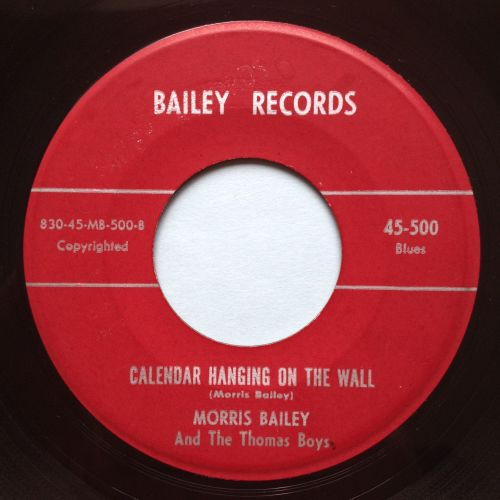 Morris Bailey - Calander hanging on the wall - Bailey - Ex