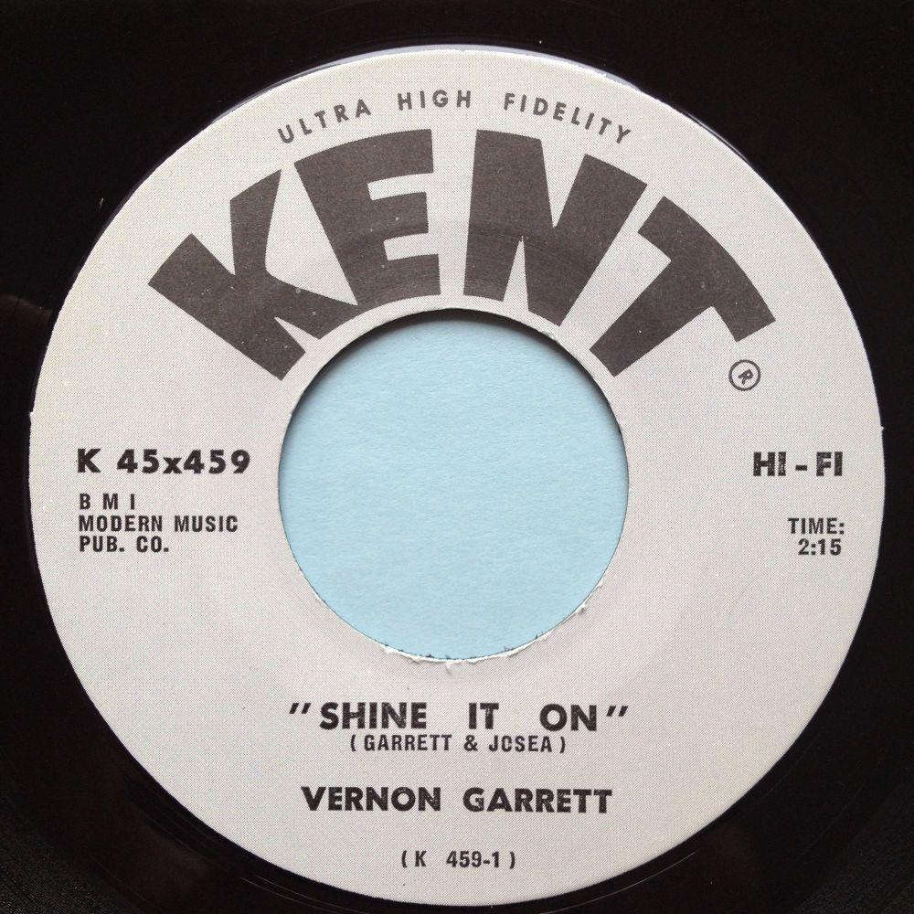 Vernon Garrett - Shine it on - Kent - Ex-