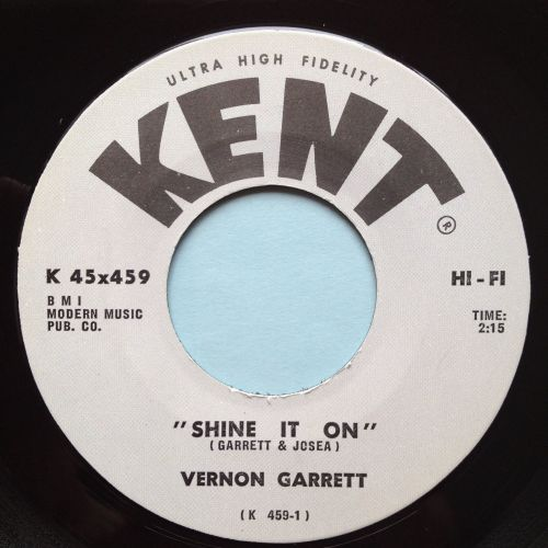 Vernon Garrett - Shine it on - Kent - Ex-
