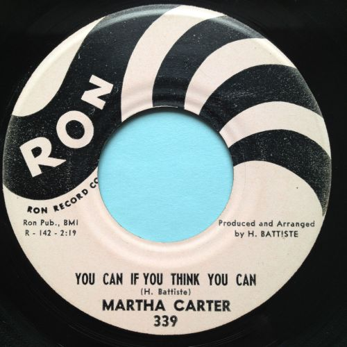 Martha Carter - You can if you think you can - Ron - Ex-