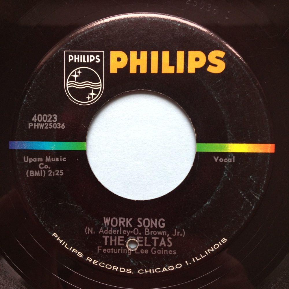 Deltas - Work Song - Philips - Ex-