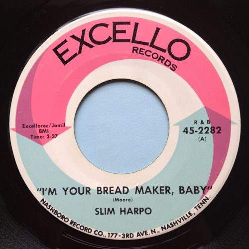 Slim Harpo - I'm your breadmaker baby - Excello - Ex-