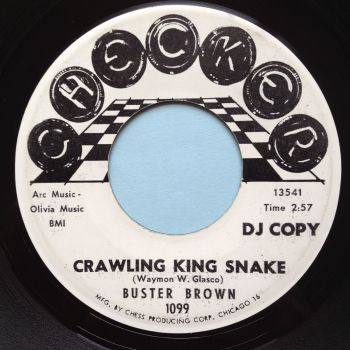 Buster Brown - Crawling King Snake - Checker promo - Ex