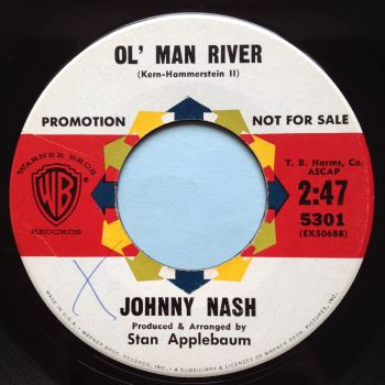Johnny Nash - Old man river - WB promo - Ex