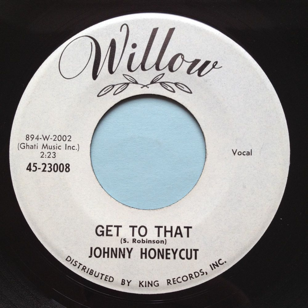 Johnny Honeycut - Get to that - Willow promo - Ex