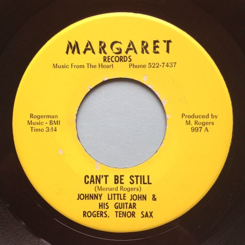 Johnny Little John - Can't be still - Margaret - Ex