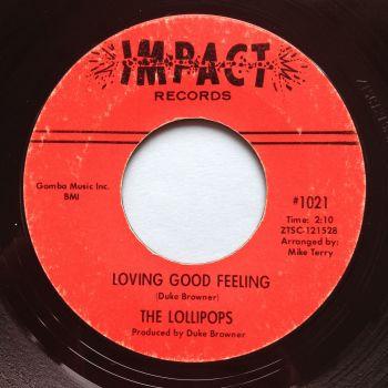 Lollipops - Loving good feeling - Impact - Ex-