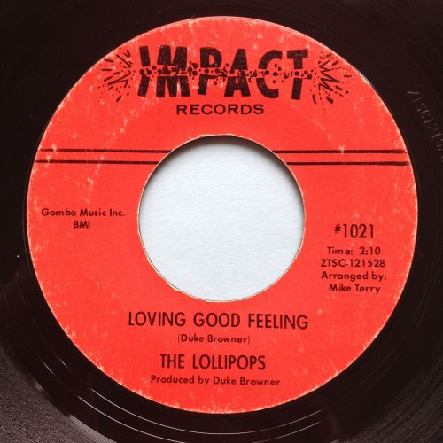 Lollipops - Loving good feeling - Impact - Ex-