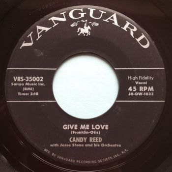 Candy Reed - Give me love - Vanguard - Ex-