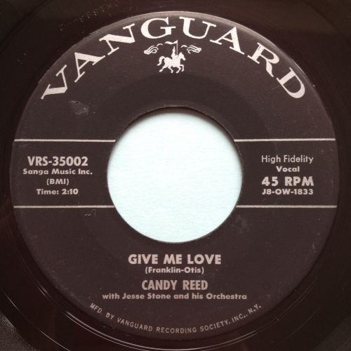 Candy Reed - Give me love - Vanguard - Ex