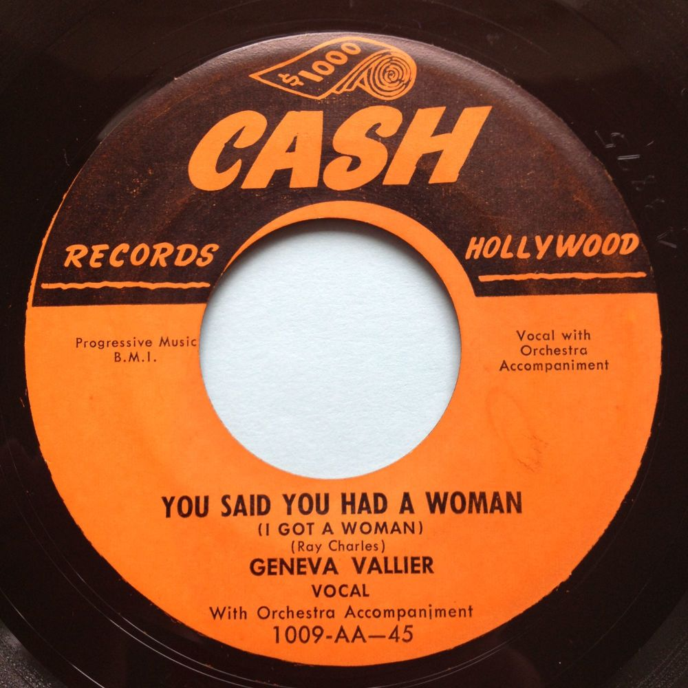 Geneva Vallier - You said you had a woman - Cash - Ex