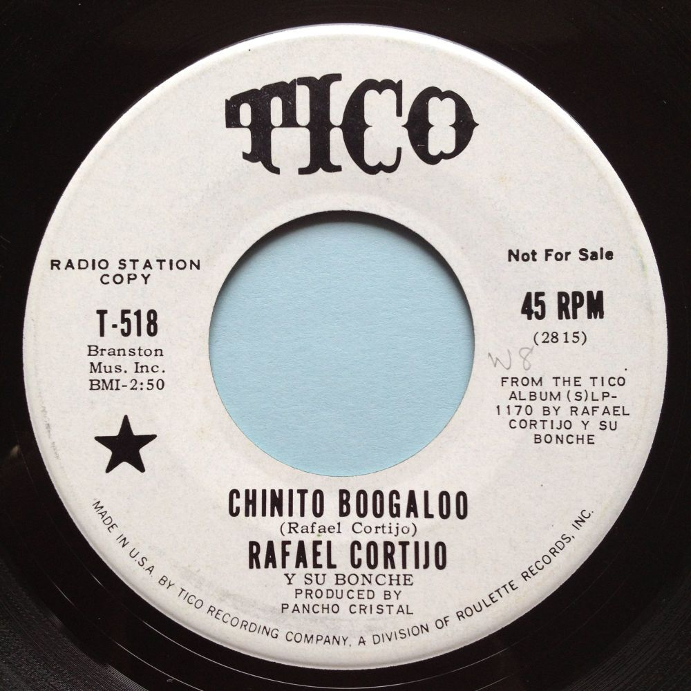 Rafael Cortijo - Chinito Boogaloo - Tico promo - Ex