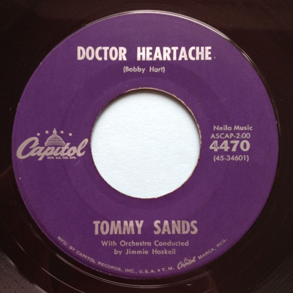 Tommy Sands - Doctor Heartache - Capitol - Ex