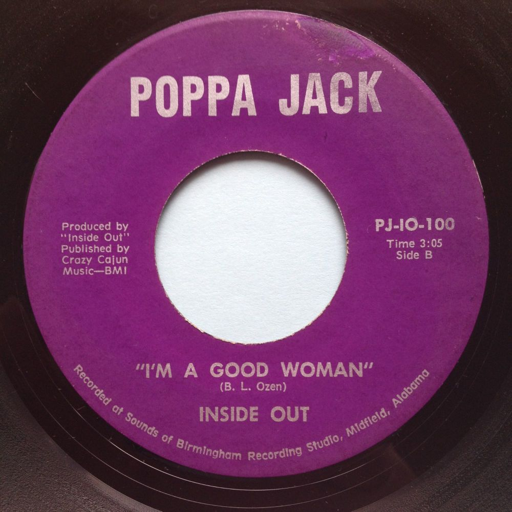 Inside Out - I'm a good woman - Poppa Jack - VG+